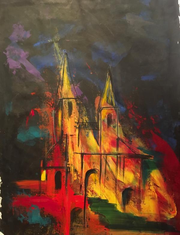 Acryl auf Canvas, 70/100 cm