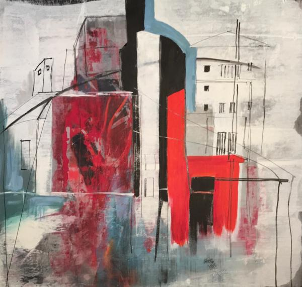 Acryl auf Canvas, 70/70 cm